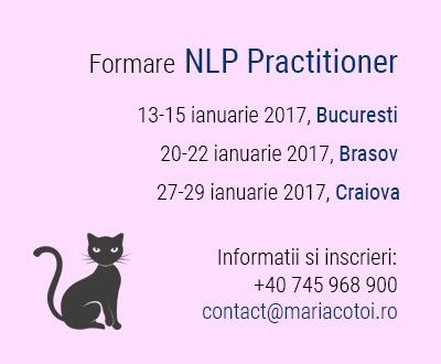 Formare NLP Practitioner